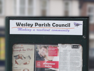 Wesley Parish Council Noticeboard